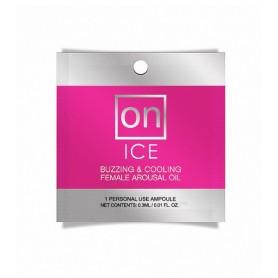 Aceite Excitante ON Efecto Frío Para Ella 0.3ml