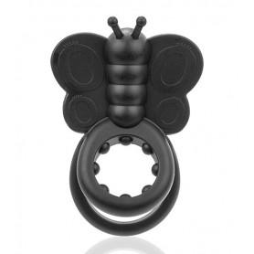 anillo vibrador doble mariposa monarch