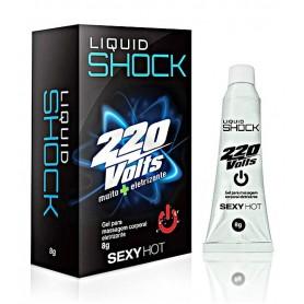 Gel Excitante Liquid Shock 220 Volts