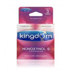 Kingdom Premium Nonoxynol9 3 Unidades