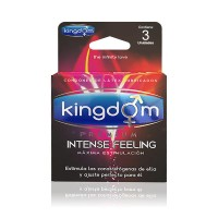 Kingdom Premium Intense Feeling 3 Unidades