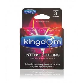 Kingdom Premium Intense Feeling 3 Unidades
