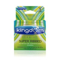 Kingdom Premium Super Ribbed 3 Unidades