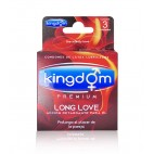 Kingdom Premium Long Love 3 Unidades