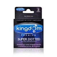 Kingdom Premium Super Dotted 3 Unidades