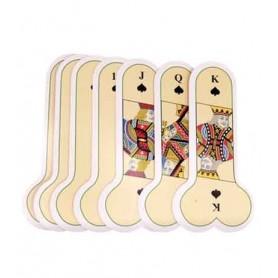 Juegos de cartas con forma de pene