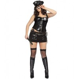 Disfraz erotico de Policia Talla XXL