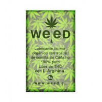Sachet Lubricante Intimo Weed 8 ml.