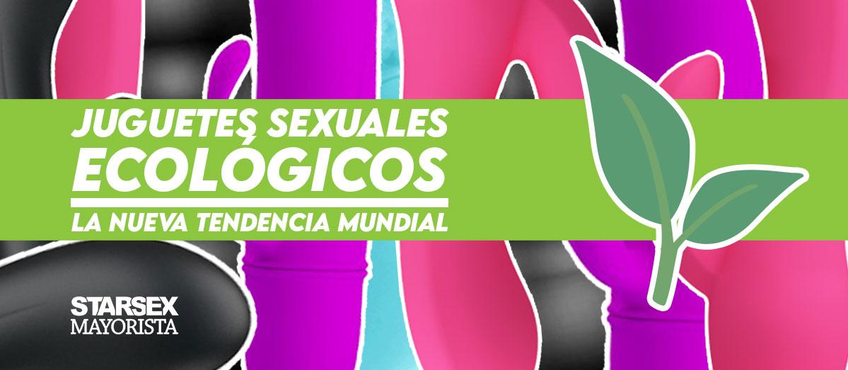 Juguetes sexuales ecológicos: la nueva tendencia mundial